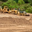 Stok fotoğraf: Earthwork Site and Equipment