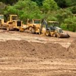 Earthwork Site and Equipment — Stock Photo
