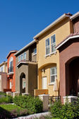 Row of Townhomes — Stockfoto