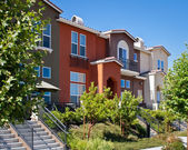 Townhomes — Stockfoto
