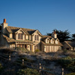 Stock Photo: Luxury Coastal House