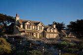 Lyx kustnära hus — Stockfoto