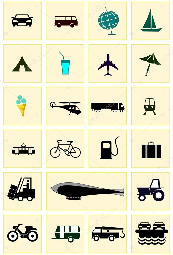 Icons. — Stock Vector #12200867
