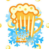 Vector background: cold drinks — Cтоковый вектор