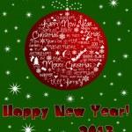 Happy New Year 2013 card. — Stock Photo #14685855