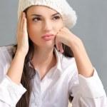 Gelangweilte Schüler Mädchen — Stockfoto