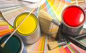 Farbe-Beispiele. — Stockfoto