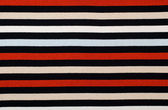 Navy stripes pattern. Red and blue stripes print as background. — Stock Photo
