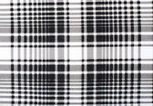 Symmetric lines and squares pattern. Black and white print as background. — Stock Photo