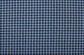 Symmetric dots and circles pattern. Dark blue dots and circles print as background. — Stock Photo