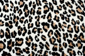 Brown and black leopard pattern. Fur animal print as background. — Stock Photo