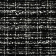 Black and white wool twill pattern. Woven design as background. — Stock Photo #50179989