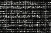Black and white wool twill pattern. Woven design as background. — Stock Photo