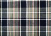 Tartan pattern. Green and dark blue plaid print as background.Symmetric square pattern. — Stock Photo