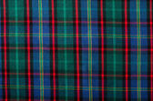 Scottish tartan pattern. Red, blue and green plaid print as background. — Stock Photo