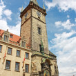Stock Photo: Old Tower in Prague, Czech Republic