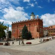Old Town of Sandomiez, Poland - Stock Photo