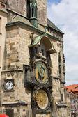 Old Town Hall tower clock, Prague — Stock Photo