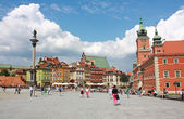 Old town of Warsaw, Poland — Stock Photo