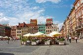 Old town of Warsaw, Poland — Stock Photo