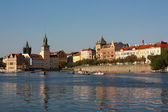 Evening Prague, Czech — Stock Photo