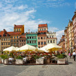 Old town of Warsaw, Poland — Stock Photo #26821435