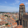 Old cathedral in Gdansk, Poland — Stock Photo