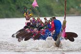 гонки на лодках — Стоковое фото