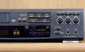 Control Panel of a karaoke videorecorder — Stock Photo