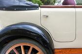 Porta de carro antigo — Fotografia Stock