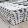 Foto Stock: Hollow core slab