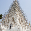 The repairing of famous pagoda in Thailand, Chedi-Liam — Photo