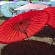Thai Paper Parasols — Stock Photo