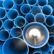 PVC pipes — Stock Photo #12725305