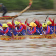Stock Photo: Boat team actively in NaBoat race