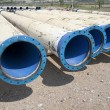 Metal pipe for water city supply — Stock Photo #12725764
