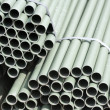 Gray pvc pipe for drain — 图库照片 #12726296