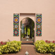 Morocco gate style - Stock Photo