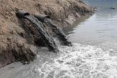 Inquinamento delle acque — Foto Stock