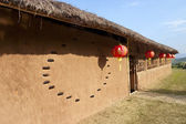 CHINESE earthen house — Stock Photo