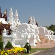 Traditional thai architecture in Chiangmai — Stock Photo
