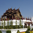 Stock Photo: Traditional thai architecture in Chiangmai