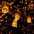 Asian lanterns — Stock Photo