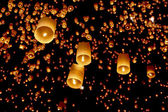 Asian lanterns — Stockfoto