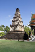 Ancient Cham Thewi temple, Lamphun Thailand — Stock Photo