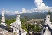 Downtown of Mae Hong Son province — Stock Photo