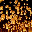 Stock Photo: Floating lanterns