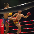 Thai boxing — Stock Photo