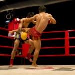 Muay Thai or Thai boxing — Stock Photo #18381015