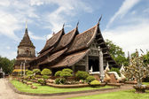 Lok Molee temple in Chiang Mai, Thailand — Stock Photo